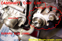 SUBARU front crankshaft cam seal