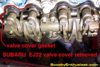 SUBARU valve cover gasket