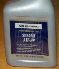2001 subaru forester transmission fluid check