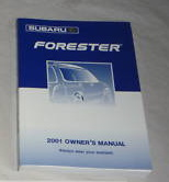 SUBARU 2001 Forester Owners Manual